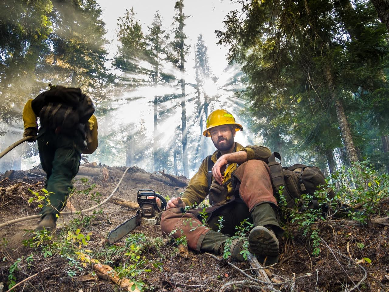Becoming a wildland firefighter